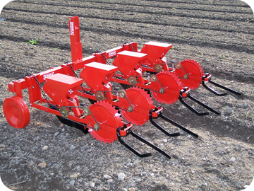SU 201 - The precision seed-drill for large-scale seedings & difficult conditions