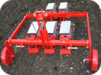 MS 23 – The market-garden seed-drill for narrow spacing and/or narrow inter-row gaps