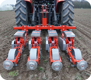 Precision seeder for finely prepared and/or light soils - MS 21 Range