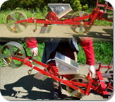 Lifting hook for seeding unit(s) :